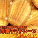 有名洋菓子店の高級☆マドレーヌ1kg≪常温≫