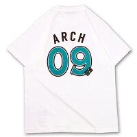 Arch(アーチ)Tシャツ ショートスリーブ choco border 09 tee【white】バスケ ウェアの画像