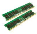 2枚組[Kingston]KTD-WS667/16G サーバ・ワークステーション用メモリDELL PowerEdgeシリーズ DDR2 PC2-5300(667) 16GB Kit(8GB x 2) ECC Registered DIMM 240pin