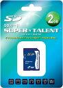 [SUPER TALENT] 日本語パッケージの3年保証 SDカード 2GB ST02SD