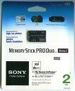 [Sony] MS-MT2G/N Memory Stick ProDuo 2G アダプター無し海外パッケージ 著作権保護機能搭載IC記録メディア