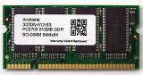 [Samsung 3rd] サムスンチップ搭載 SODIMM DDR PC2700 512MB (333)