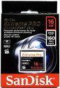 [Sandisk] 超高速1067倍速(160MB/s) サンディスク Extreme Pro CFカード 16GB(UDMA7対応) SDCFXPS-016G-X46