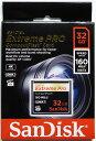 [Sandisk] 超高速1067倍速(160MB/s) サンディスク Extreme Pro CFカード 32GB(UDMA7対応) SDCFXPS-032G-X46
