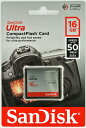 [Sandisk] サンディスク Ultra 333倍速(50MB/s) CFカード 16GB 海外パッケージ SDCFHS-016G-G46
