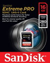 [Sandisk] 読込最大280MB/s 書込最大250MB/s!サンディスク Extreme PRO SDHC UHS-II Card 16GB 海外パッケージ SDSDXPB-016G-G46