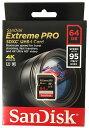 [Sandisk] 読込最大 633倍速 95MB/s!サンディスク Extreme Pro SDXCカード Class 10 UHS-I U3対応 64GB SDSDXPA-064G-X46
