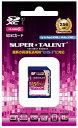 [SUPER TALENT] 安心の3年保証 SDXCカード 256GB ハイスピード Class10 UHS-I対応 ST56SU1P