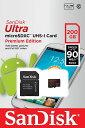 [Sandisk] 送料無料 サンディスク 最大転送速度90MB/sの高速microSDXCカード!Class10 UHS-1対応 200GB 海外パッケージ SDSDQUAN-200G-…