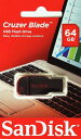SanDisk サンディスク Cruzer Blade USB2.0 Flash Drive 64GB SDCZ50-064G-B35