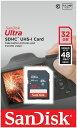 [SANDISK] サンディスク Ultra SDHCカード 32GB Class10 UHS-1対応 320倍速(48MB/s) 海外パッケージ SDSDUNB-032G-GN3IN