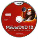 【CyberLink】DVDの再生・書込はこれ1枚でOK!PowerDVD10 / Power2Go OEM版