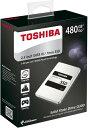 [TOSHIBA] 東芝 Q300シリーズ SSD 2.5inch 480GB SATA 6Gbps (読込:550MB/s 書込:520MB/s) HDTS848AZSTA 海外パッケージ