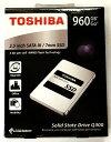 [TOSHIBA] 東芝 Q300シリーズ SSD 2.5inch 960GB SATA 6Gbps (読込:550MB/s 書込:530MB/s) HDTS896AZSTA 海外パッケージ