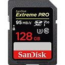 [SANDISK] バルク品特価!サンディスク Extreme Pro V30対応 UHS-I U3 SDXCカード 128GB (読取95MB/秒、書込90MB/秒) SDSDXXG-128G-GN4IN