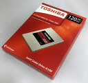 [TOSHIBA] 新品アウトレット(箱不良) 東芝 A100シリーズ SSD 2.5inch 120GB SATA 6Gbps (読込:550MB/s 書込:480MB/s) THN-S101Z1200A8 ..