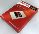 [TOSHIBA] 東芝 A100シリーズ SSD 2.5inch 240GB SATA 6Gbps (読込:550MB/s 書込:480MB/s) THN-S101Z2400A8 海外パッケージ