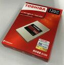 TOSHIBA 東芝 A100シリーズ SSD 2.5inch 120GB SATA 6Gbps (読込:550MB/s 書込:480MB/s) THN-S101Z1200C8 海外パッケージ