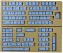 【東プレ】 REALFORCE104/87配列 交換用カラーキートップフルセット(青) XF0100-KT2