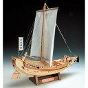 ウッディジョー木製帆船模型1/72菱垣廻船レーザーカット加工
