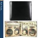 【PaulSmith】ポールスミス 二つ折り財布 財布 メンズ ブラック×ラジカセプリント メンズ ARXC 4833 W777 B【あす楽対応】【送料無料】