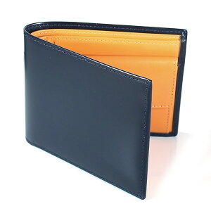 【ETTINGER】エッティンガー二つ折り財布メンズブライドルレザーBH141JRNAVYネイビー【あす楽対応】