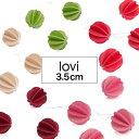 Lovi(ロヴィ)ボール 3.5cm 7個入【新商品 NEW】 北欧 クリスマスツリー 飾り オーナ...
