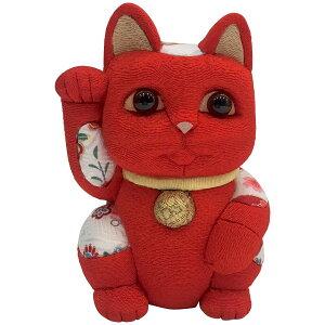 【クーポンあり】柿沼東光 招き猫 大 風水 赤 | 伝統