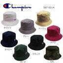 チャンピオン あす楽対応 バケットハット 587-001A ホワイト グレー ベージュ ワイン カーキ ネイビー ブラック カモ Champion BUCKET HAT 8color 定番ハット 帽子 男女兼用 UV