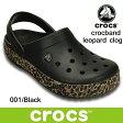クロックス クロックバンド レオパード クロッグ crocs crocband leopard clog 203171 (001) Black サンダル 軽量 クロッグ レディース ウィメンズ メンズ ユニセックス