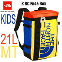 ザ ノースフェイス 無償修理対象正規品 BCヒューズボックス(キッズ) キッズ 小学生 中学生 高校生 大学生 ボックス型のデイパック The North Face K BC Fuse Box 21L NMJ81630 (MT)マルチ
