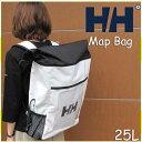 ヘリーハンセン モデルチェンジのため処分価格です あす楽対応 マップバッグ ホワイト リュックサック  リュック  鞄 バッグ アウトドア HELLY HANSEN Map Bag W white HY91358