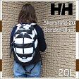 ヘリーハンセン あす楽対応 秋新作 2016秋冬NEWカラー 白黒ボーダー スカルティン 20 ボーダーブラック リュックサック  リュック 鞄 バッグ アウトドア スカルティン20 HELLY HANSEN Skarstind20 20L K1 HOY91402