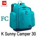 ザ ノースフェイス 送料無料 サニーキャンパー30(キッズ) バックパック/リュックサック 子供用 デイパック The North Face K Sunny Camper 30 NMJ71800 (FC)フラメンコブルー