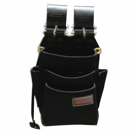 KNICKS(ニックス) チェーン式特殊ナイロン製腰袋 自在型 ブラック ※取寄品 KB-212NSDX