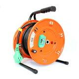 日動 延長コード型ドラム(屋内型)アース付 20m 漏電保護専用 NL-EB20S