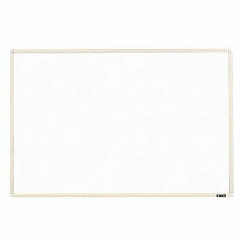 トラスコ 壁掛スチール製ホワイトボード(白暗線)900×1200mm ホワイト WGH-112SA-W