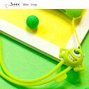 かわいい ディズニーストラップ シリコン製 STRAP モンスターズインク マイク Bone collection 日本正規総代理店【ネコポス便可】