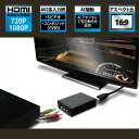 AREA アップスキャンコンバーター コンポジット出力の機器をHDMIに変換!SD-CSH1(UP EMPIRE)【送料無料】