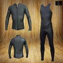 国内縫製 伸縮素材 CALI MODEL CLASSIC ロングジョンジャケットSET  LJ&JKT SET 肩ベルクロ