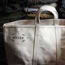 【STEELE NATURAL CANVAS TOTEBAG Medium】バッグ トート スティールキャンバス 188■ 送料無料■ あす楽■ ラッピング無料