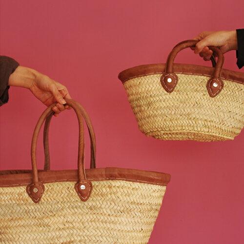 【あす楽対応】【ディアモロッコ トラディッショナル マルシェバッグ S】【DEAR MOROCCO バッグ ショッピングバッグ お祝い 贈り物 ギフト】あす楽対応】