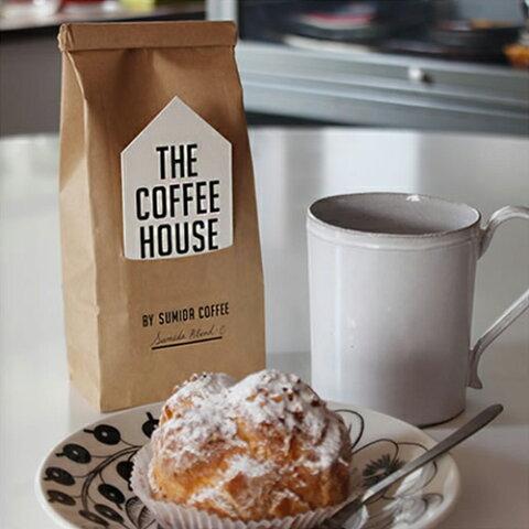 【THE COFFEE HOUSE Sumida Blend コーヒー豆】すみだ珈琲 焙煎したて コーヒー豆 中挽き 豆のまま ブレンド