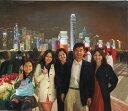【送料無料】技法が選べるオーダーメイド油絵 人物五人 額縁付き 絵画サイズ: 76 x 100cm