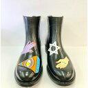 ショッピングレインブーツ キッズ 《サイズ交換無料》アシメレインブーツ 雨靴 防水 滑り止め 22.5 25 雨の日安心 アンクルブーツ 04-1111 韓国 韓国グッズ