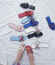 ショッピングレディス 《サイズ交換無料》ハンドメイドスクエアートゥー Hミュール ペタンコ靴 オフィス お家時間 ソックス 04-0312 韓国 韓国グッズ