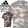 アディダス 野球 トレーニングシャツ Revolution 2ndユニフォームTシャツ カモフラージュカーキ adidas BIN20