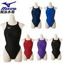 ミズノ スイム 競泳水着 ハイカット MIZUNO N2MA8421 ストリームアクセラ ジュニア