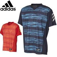 アディダス 野球 ソフトボール ベースボールTシャツ 91 5T2NDUNFBORDERV adidas FTI94 半袖シャツ ユニフォーム プレイヤーズボーダーグラフィック スポーツアパレル ベースボール 大人用 メンズの画像