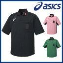 ネコポス asics (アシックス) ハンドボール XH6003 レフリーシャツ 日本製 日本ハンドボール協会公認 吸汗速乾 UVケア
